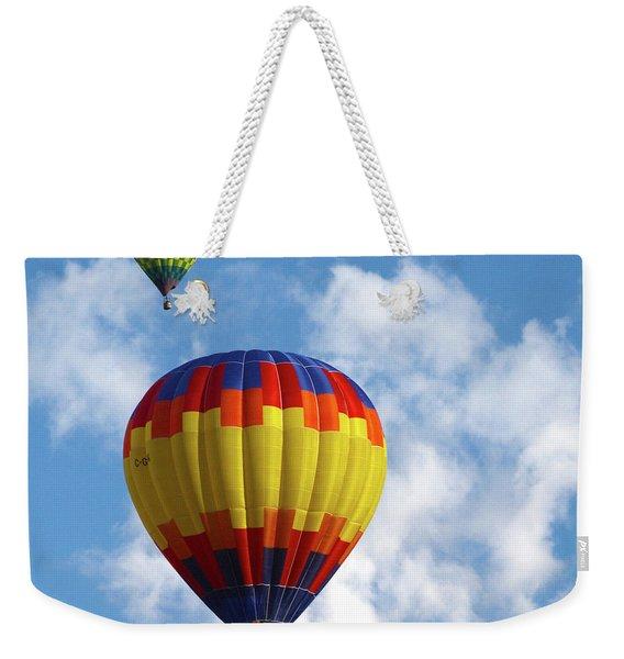 Balloons In The Cloud Weekender Tote Bag