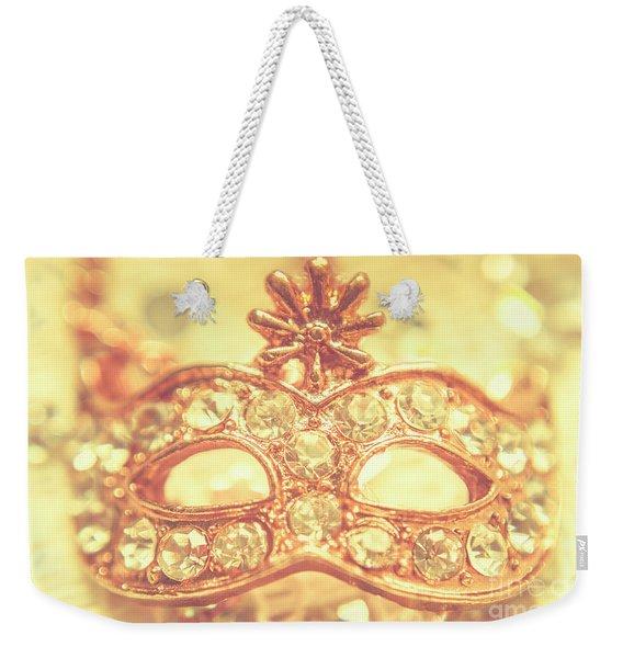 Ballroom Glitter Weekender Tote Bag