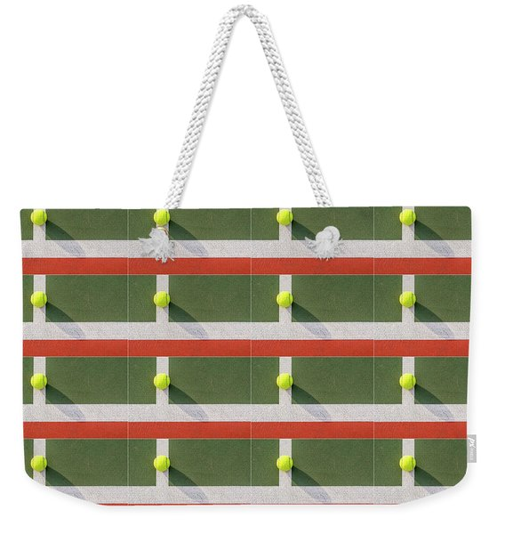 Balls On The Court Weekender Tote Bag