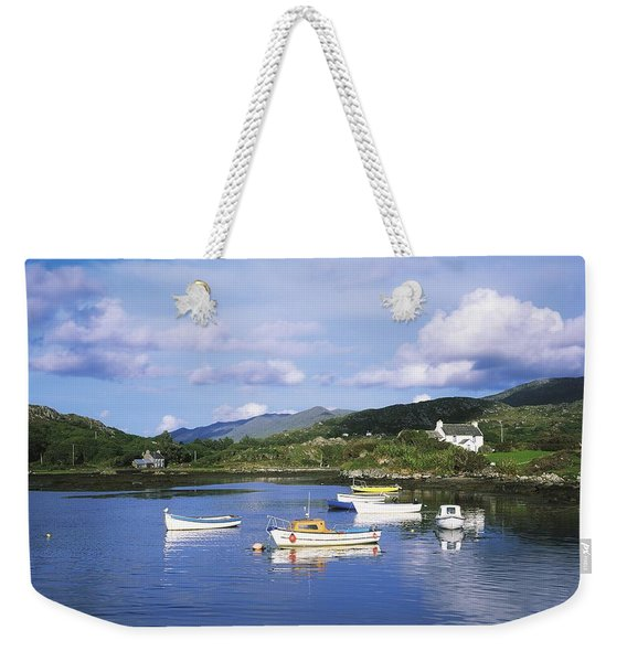 Ballycrovane Harbour, Beara Peninsula Weekender Tote Bag