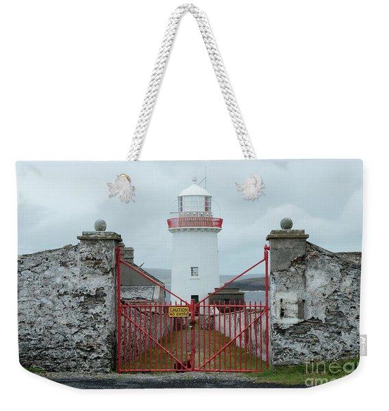 Ballyglass Lighthouse Weekender Tote Bag