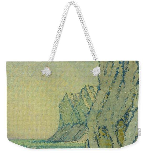 Baltic Sea Cliffs Weekender Tote Bag