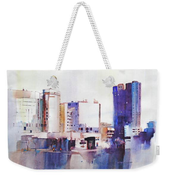 Baltimore Plaza Weekender Tote Bag