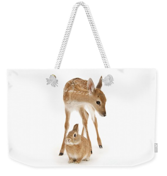 Bambi And Thumper Weekender Tote Bag