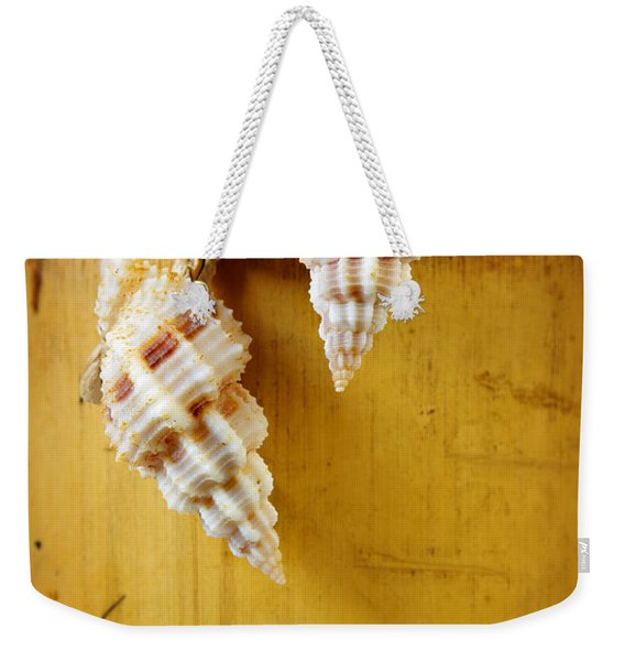 Bamboo And Conches Weekender Tote Bag