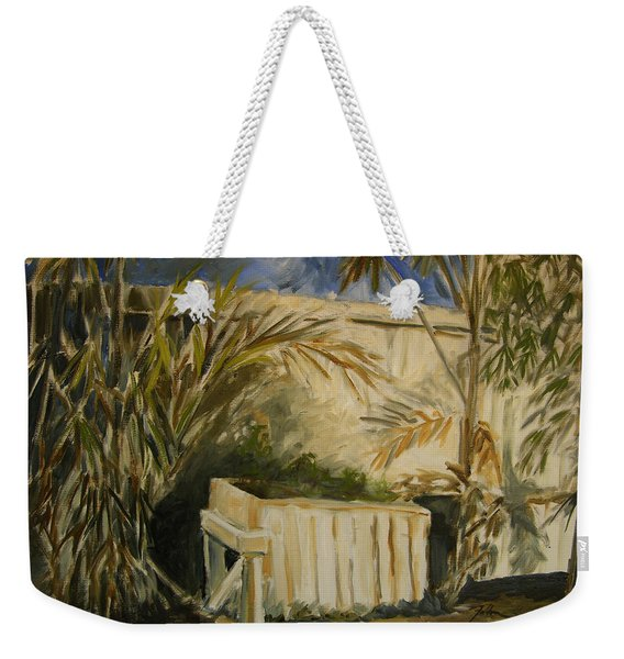 Bamboo And Herb Garden Weekender Tote Bag