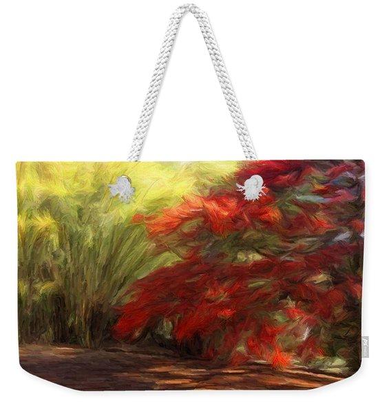 Bamboo And The Flamboyant Weekender Tote Bag