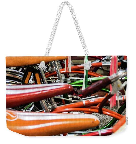 Banana Bikes Weekender Tote Bag