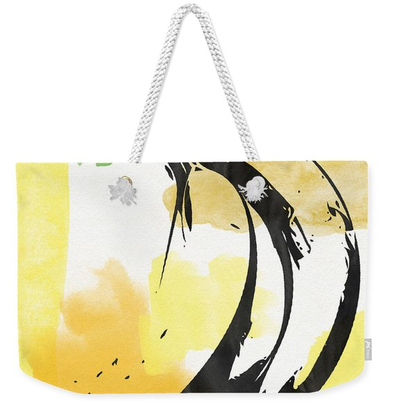 Bananas- Art By Linda Woods Weekender Tote Bag