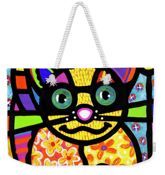 Bandit The Lemur Cat Weekender Tote Bag