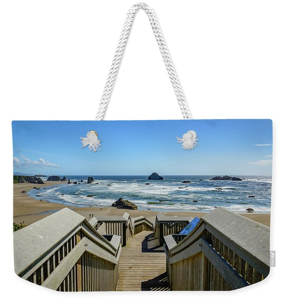 Bandon Beach Weekender Tote Bag