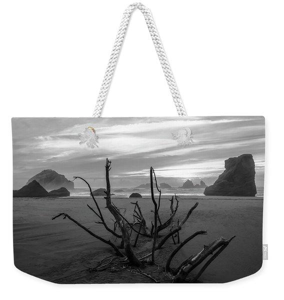 Bandon Beach Tree Weekender Tote Bag