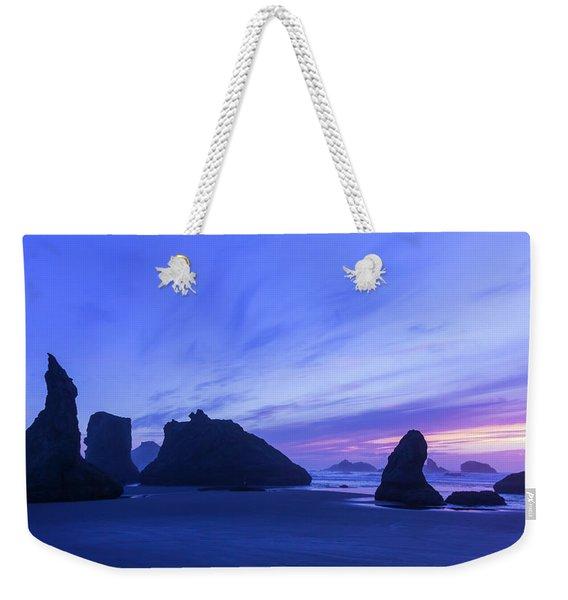 Bandon Blue Hour Weekender Tote Bag
