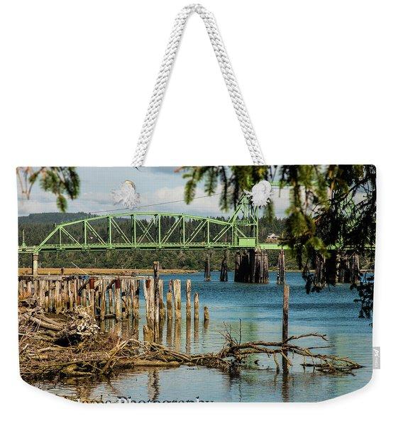 Bandon Drawbridge Weekender Tote Bag