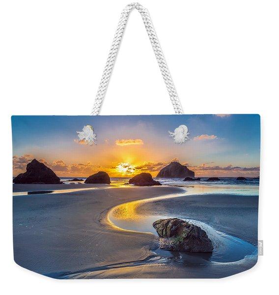 Bandon Face Rock Weekender Tote Bag