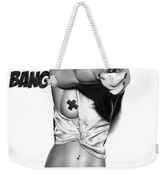 Bang Bang Weekender Tote Bag