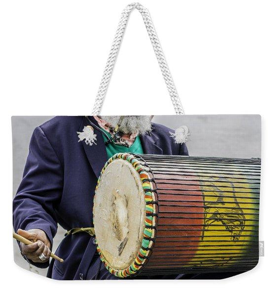 Bang That Drum Weekender Tote Bag