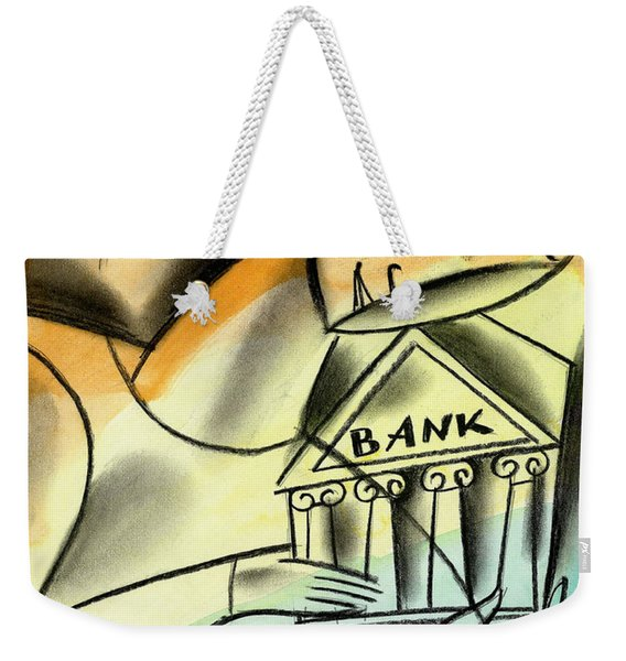 Banking Weekender Tote Bag