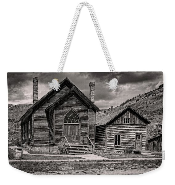 Bannack Church Weekender Tote Bag