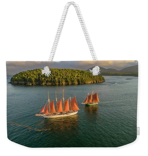 Sailing Thru Life The Downeast Way Weekender Tote Bag