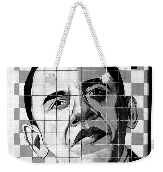 Barack Obama Weekender Tote Bag