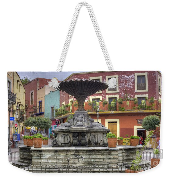 Baratillo Plaza Weekender Tote Bag