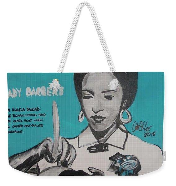 Barber Shortage Weekender Tote Bag