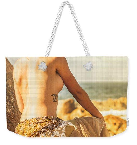 Bare Elegance Weekender Tote Bag