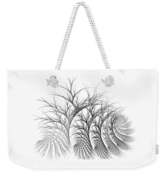 Bare Trees Daylight Weekender Tote Bag