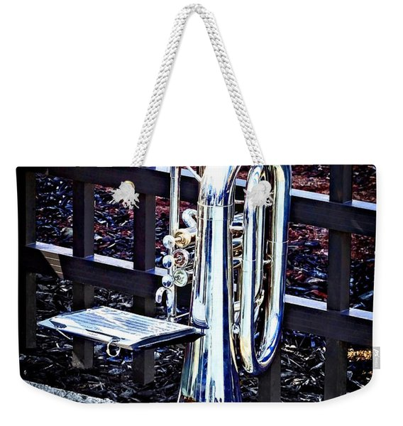 Baritone Horn Before Parade Weekender Tote Bag
