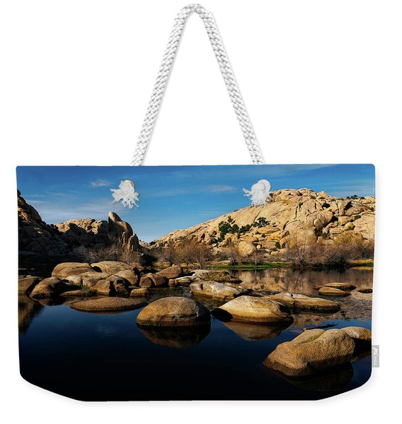 Barker Dam Lake Weekender Tote Bag