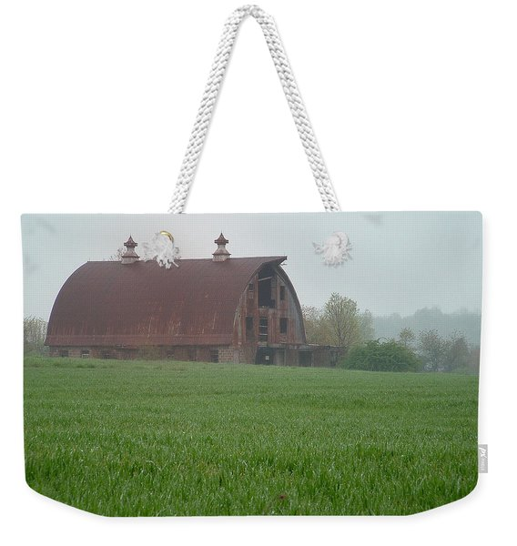 Barn In Summer Weekender Tote Bag