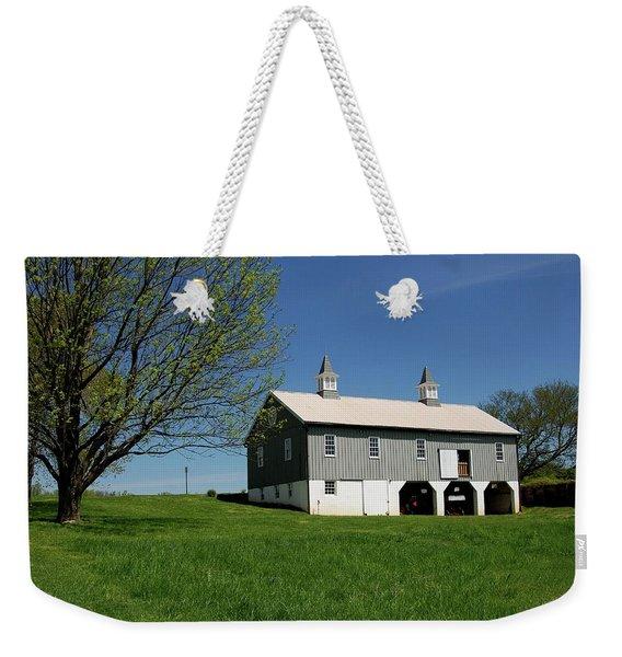 Barn In The Country - Bayonet Farm Weekender Tote Bag