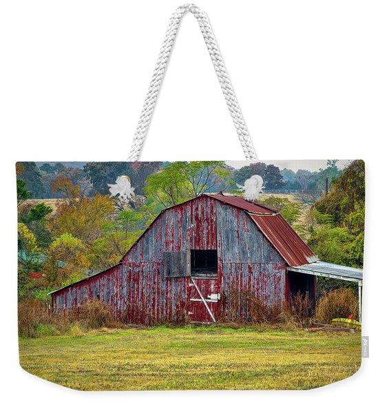 Barn On White Oak Road 2 Weekender Tote Bag