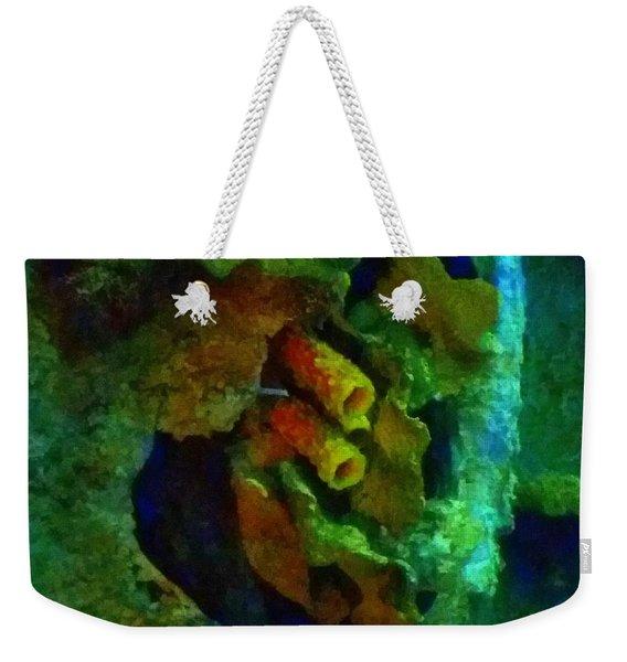 Barnacle Hangout Weekender Tote Bag