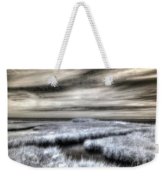 Barnegat Bay New Jersey Weekender Tote Bag