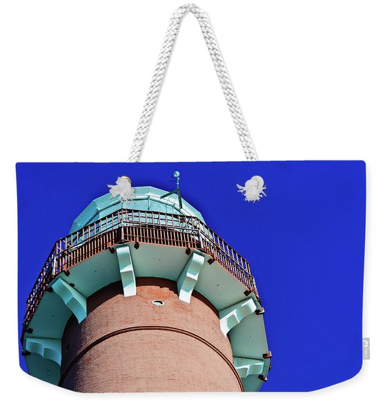 Barnegat Lighthouse Top Weekender Tote Bag