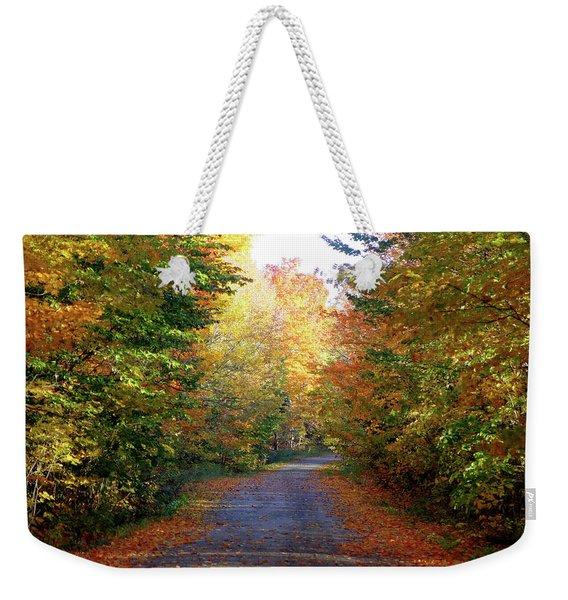 Barnes Road - Cropped Weekender Tote Bag