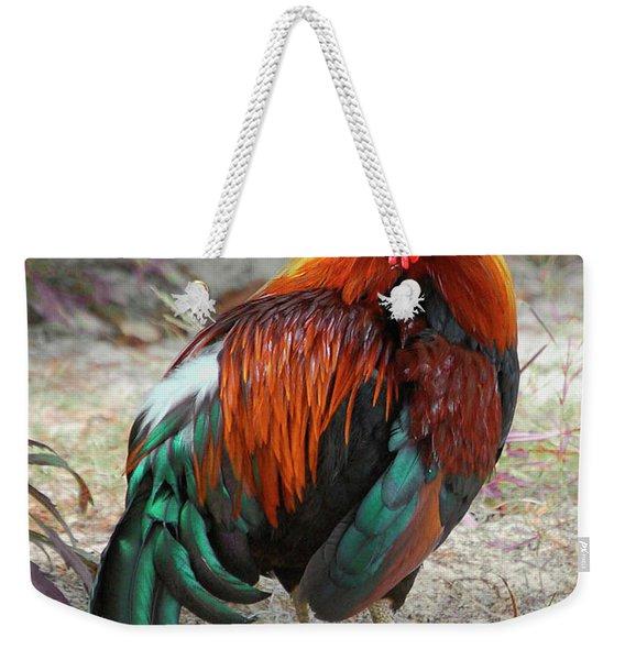 Barnevelder Rooster Weekender Tote Bag