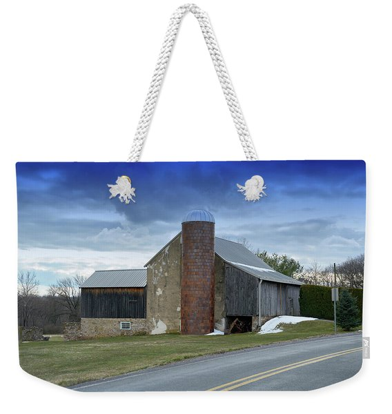 Barns And Country Weekender Tote Bag