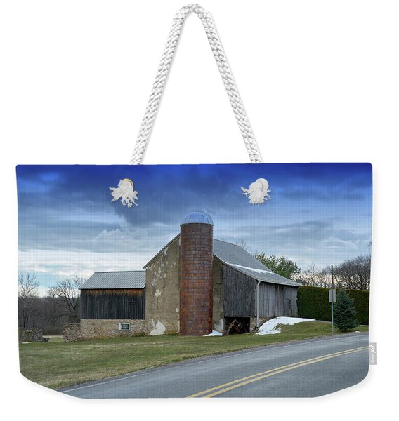 Barns And Country Weekender Tote Bag