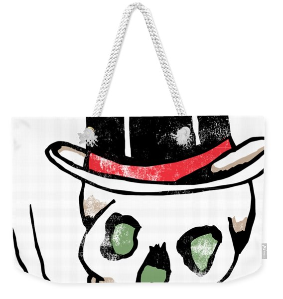 Baron Samedi Retro Skull Tattoo Weekender Tote Bag