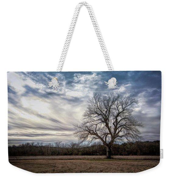 Baron Tree Of Winter Weekender Tote Bag