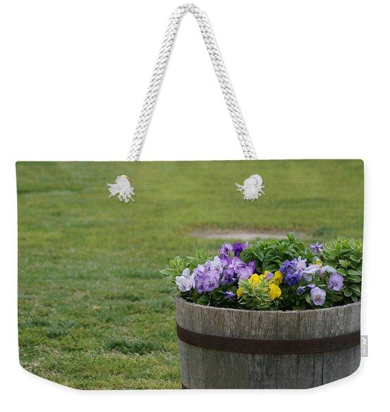 Barrel Of Flowers Weekender Tote Bag
