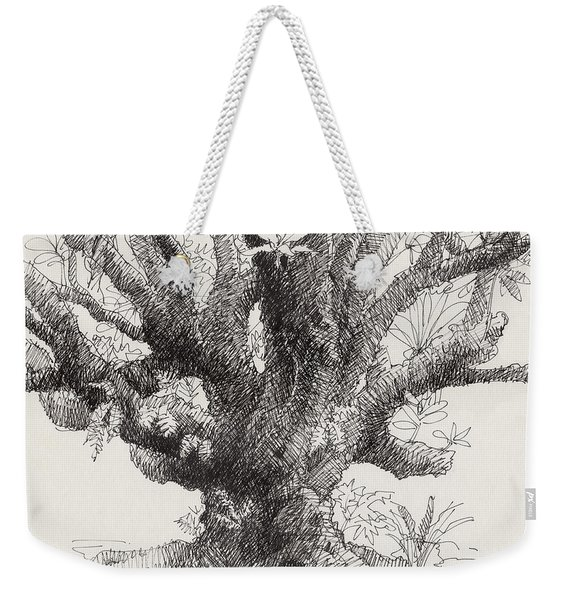 Barringtonia Tree Weekender Tote Bag