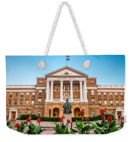 Bascom Hall Weekender Tote Bag