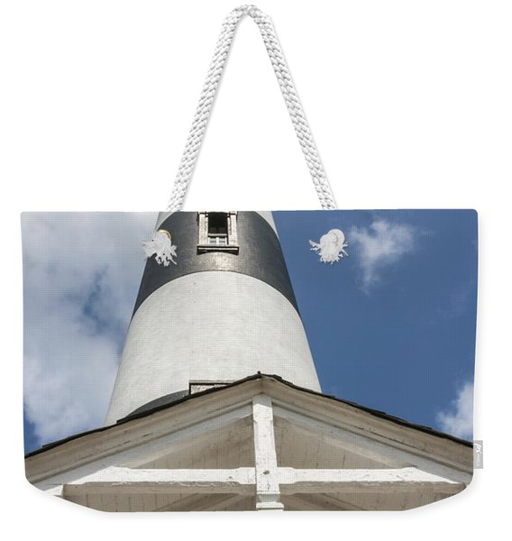 Base Of Bodie Island Lighthouse Weekender Tote Bag