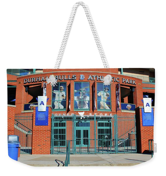 Baseball Stadium Weekender Tote Bag