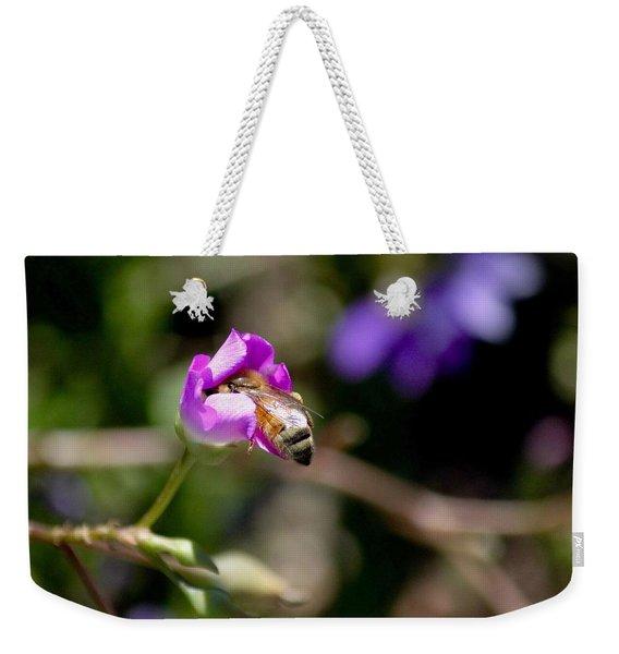 Bashful Bee  Weekender Tote Bag