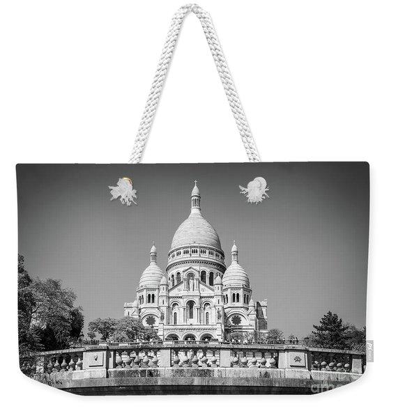 Basilica Of The Sacred Heart In Paris Weekender Tote Bag